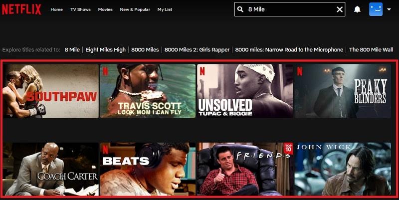 Watch 8 Mile (2002) on Netflix