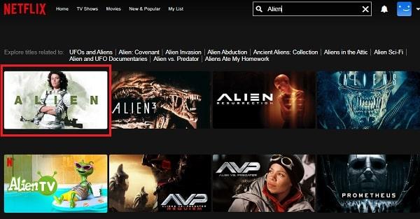 Alien (1979): Watch it on Netflix