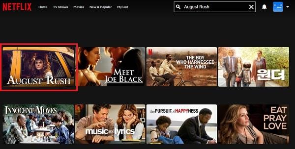 Watch August Rush (2007) on Netflix