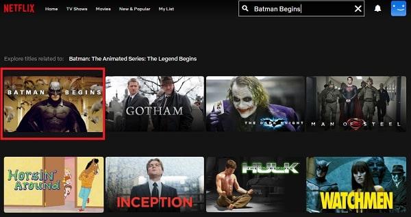 Batman Begins (2005): Watch it on Netflix