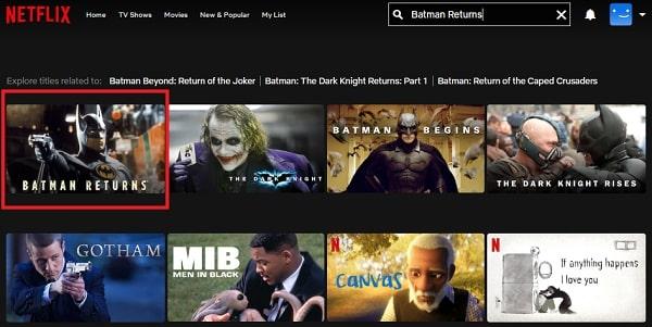 Batman Returns (19952: Watch it on Netflix