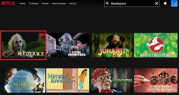 Beetlejuice (1988): Watch it on Netflix