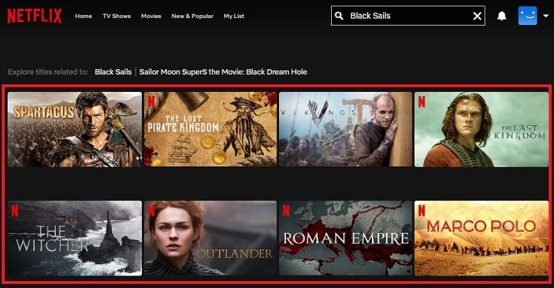 Watch Black Sails (2014) on Netflix