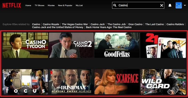 Casino (1995): Watch it on Netflix
