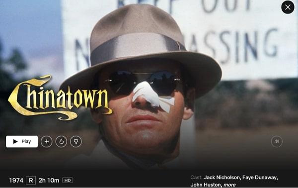 Watch Chinatown (1974) on Netflix