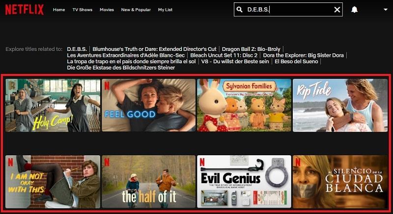 Watch D.E.B.S. (2004) on Netflix