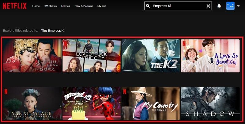 Watch Empress Ki (2013) on Netflix