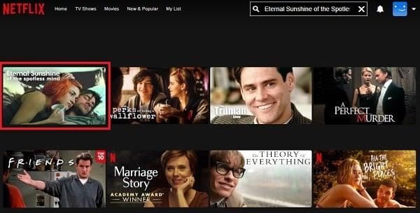 Watch Eternal Sunshine of the Spotless Mind (2004) on Netflix