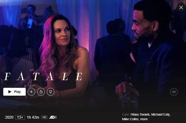 Watch Fatale (2020) on Netflix