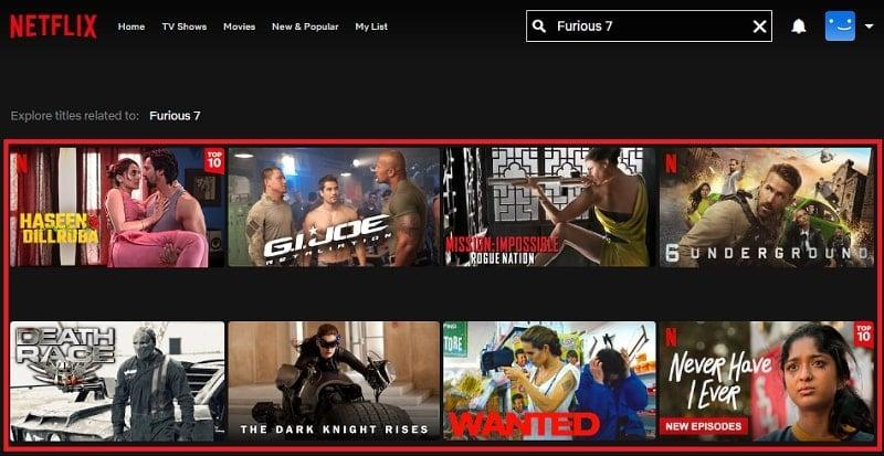 Watch Furious 7 (2015) on Netflix