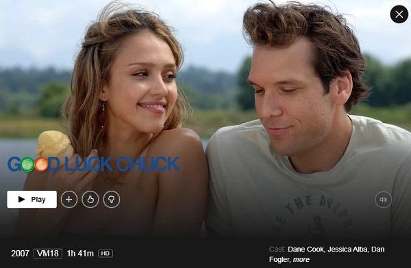 Watch Good Luck Chuck (2007) on Netflix