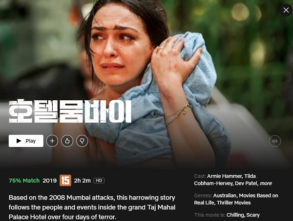 Watch Hotel Mumbai (2019) on Netflix