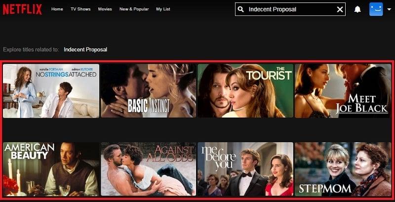 Watch Indecent Proposal (1993) on Netflix