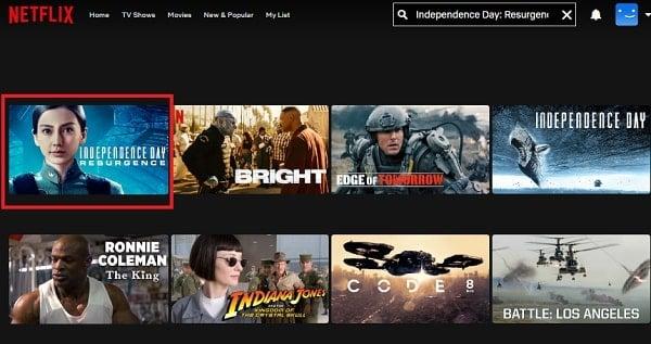 Watch Independence Day: Resurgence (2016) on Netflix