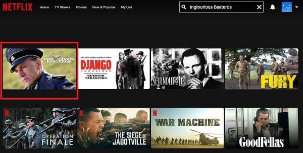 Inglourious Basterds (2009): Watch it on Netflix