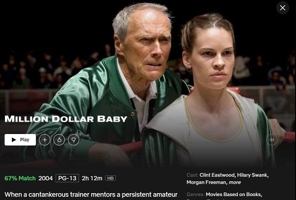 Watch Million Dollar Baby (2004) on Netflix