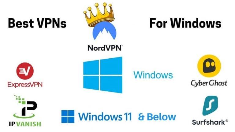 Best VPNs for Windows