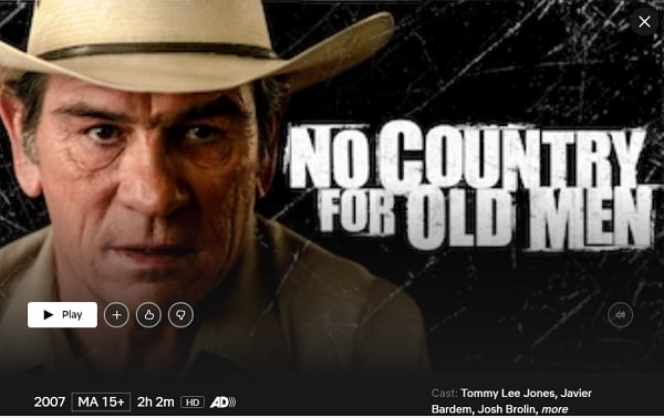 Watch No Country for Old Men (2007) on Netflix