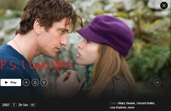 Watch P.S. I Love You (2007) on Netflix