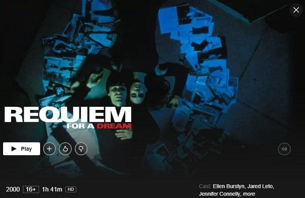 Requiem for a Dream (2000): Watch it on Netflix
