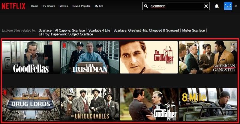 Scarface (1983): Watch it on Netflix