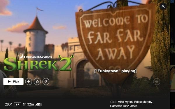 Watch Shrek 2 (2001) on Netflix