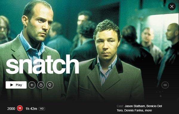 Snatch (2000): Watch it on Netflix
