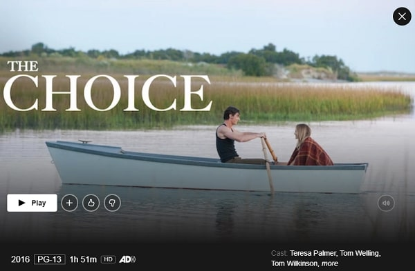Watch The Choice (2016) on Netflix
