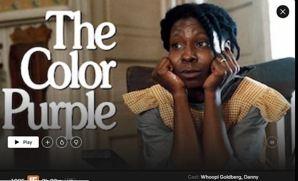 Watch The Color Purple (1985) on Netflix