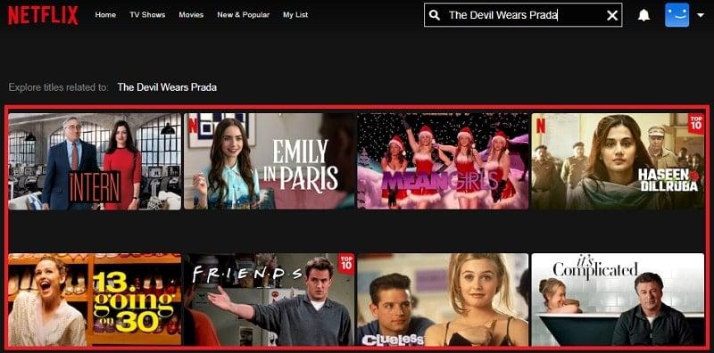 Watch The Devil Wears Prada (2006) on Netflix