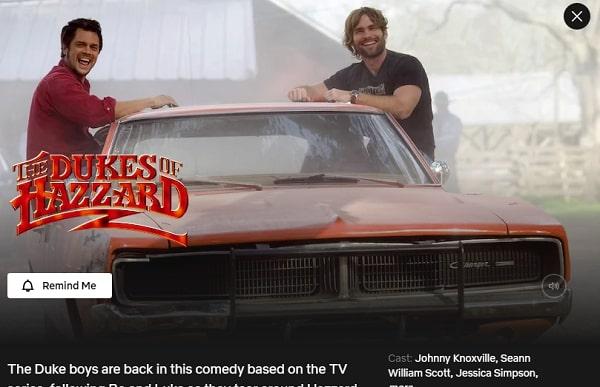 Watch The Dukes of Hazzard (2005) on Netflix