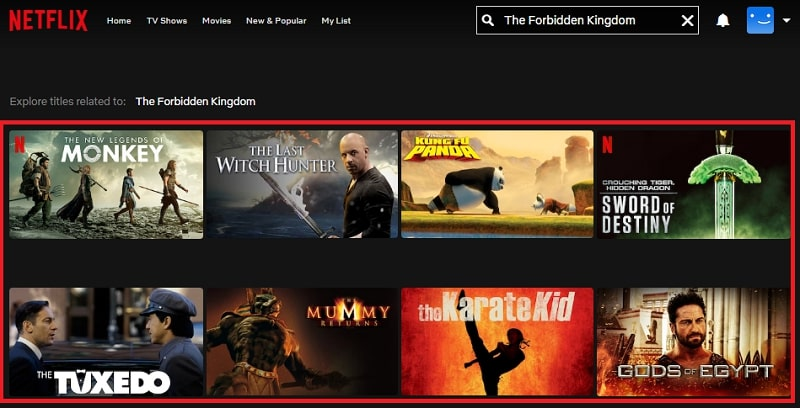 Watch The Forbidden Kingdom (2008) on Netflix