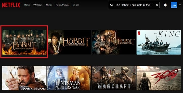 Watch The Hobbit: The Battle of the Five Armies (2014) on Netflix