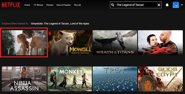 Watch The Legend of Tarzan (2016) on Netflix