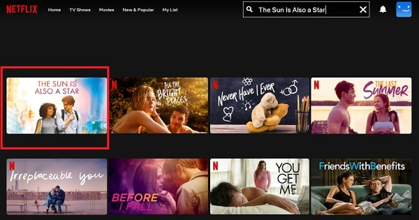 Watch The Sun Is Also a Star (2019) on Netflix