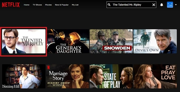 Watch The Talented Mr. Ripley (1999) on Netflix