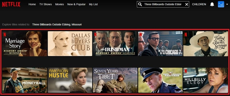 Watch Three Billboards Outside Ebbing, Missouri (2017) on Netflix