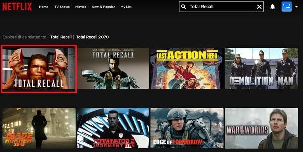 Total Recall (1990): Watch it on Netflix