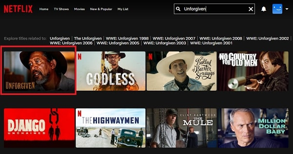 Unforgiven (1992): Watch it on Netflix