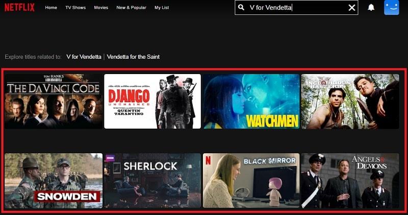 Watch V for Vendetta (2005) on Netflix