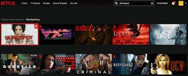 Watch Blindspot on Netflix 2