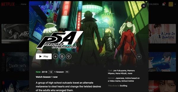 Watch Persona 5 - The Animation on Netflix 3