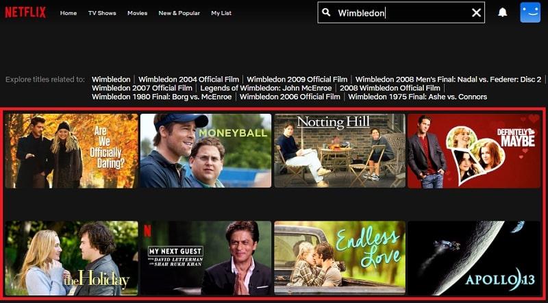 Watch Wimbledon (2004) on Netflix