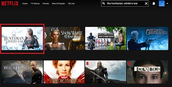 Watch The huntsman: winter's war (2016) on Netflix
