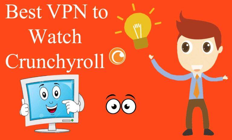 Best VPN for crunchyroll